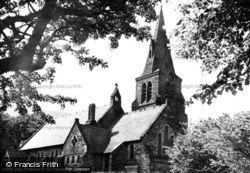 Holy Trinity Church c.1955, Edale