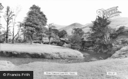River Noe And Loose Hill c.1960, Edale