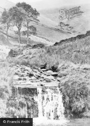 Waterfall Near Jacob's Ladder c.1955, Edale