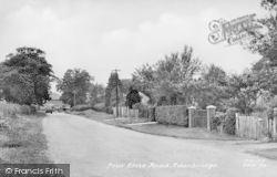 Edenbridge, Four Elms Road c.1955