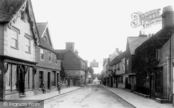 Edenbridge, High Street 1906
