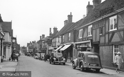 Edenbridge, High Street 1951