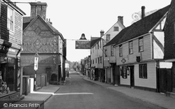 Edenbridge, High Street c.1950