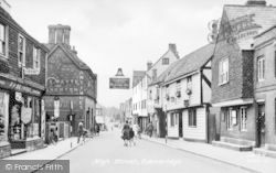 Edenbridge, High Street c.1955