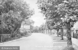 Edenbridge, Hilders Lane c.1955
