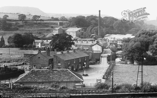 Photo of Edenfield, Irwell Vale c1950