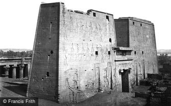 Edfu, the Great Pylon 1860