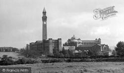 Edgbaston, Birmingham University And Joseph Chamberlain Memorial Clock Tower 1950