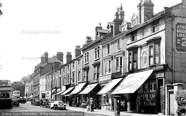 Edgbaston, Hagley Road 1949