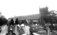Edgbaston, the Church 1896