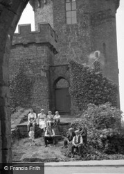 The Castle Inn c.1950, Edgehill