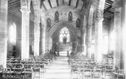Edgmond, Church Interior 1898