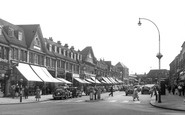 Edgware, Station Road 1954