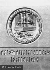 Edinburgh, Castle, War Memorial, 'The Tunnellers' Friends' c1930