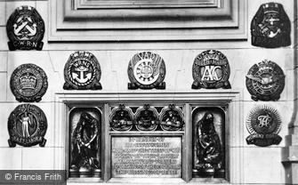 Edinburgh, Castle, War Memorial to all Scots Women c1930