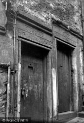 Edinburgh, Clement Cor's House, Advocate's Close 1954