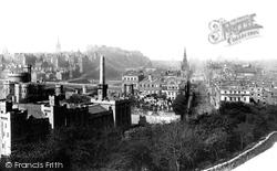 Edinburgh, From Calton Hill 1897
