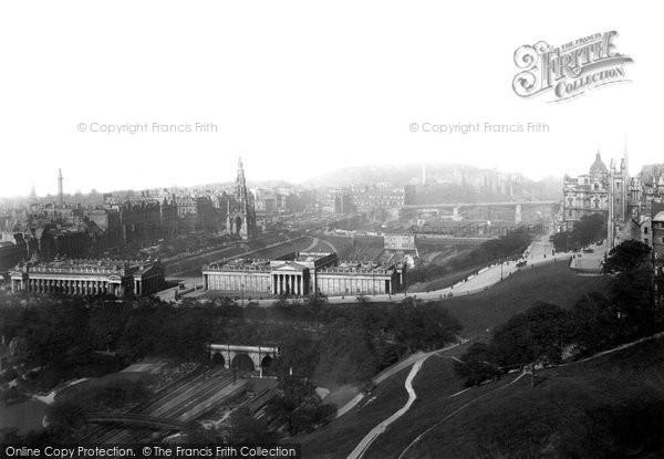 Edinburgh, from the Castle 1897