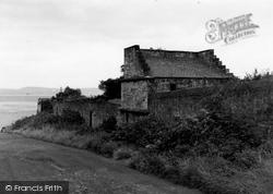 Edinburgh, Granton Castle 1954