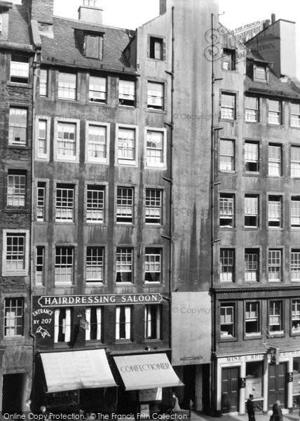 Photo of Edinburgh, High Street 1953