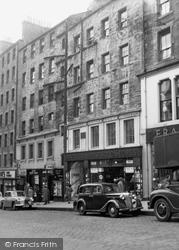 Edinburgh, High Street 1954