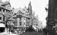 Edinburgh, John Knox's House  1897