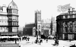 Edinburgh, Junction Of Hope Street, West End And Princes Street 1897