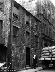 Edinburgh, Leith, 29 Quality Street 1954