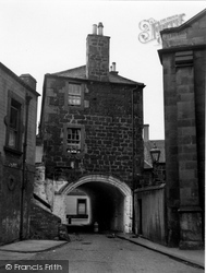 Edinburgh, Leith, The Citadel 1954