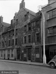 Edinburgh, Leith, The Shore 1954