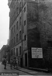 Edinburgh, Outlook Tower 1953