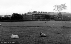 Edinburgh, Palace Of Holyroodhouse 1954