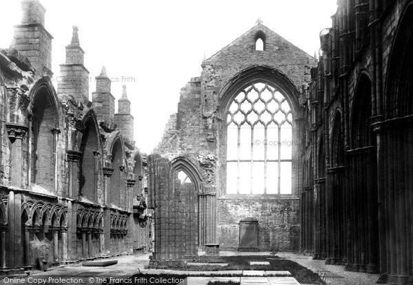 Photo of Edinburgh, Palace of Holyroodhouse, Chapel 1897, ref. 39171