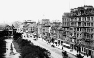 Edinburgh, Princes Street 1897