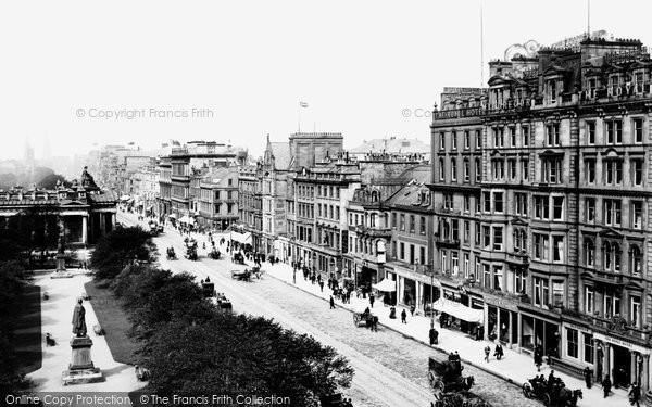 Edinburgh, Princes Street 1897