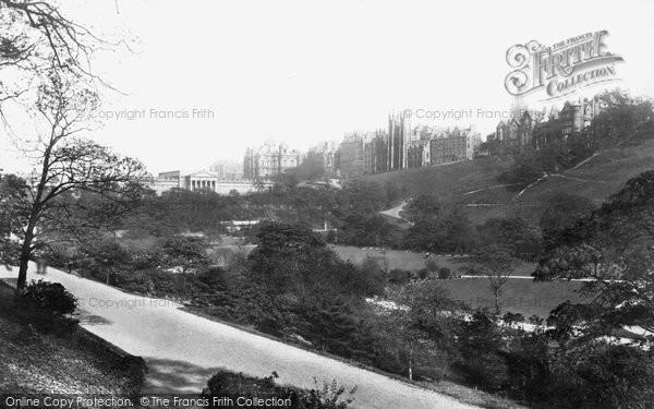 Photo of Edinburgh, Princes Street Gardens 1897, ref. 39122