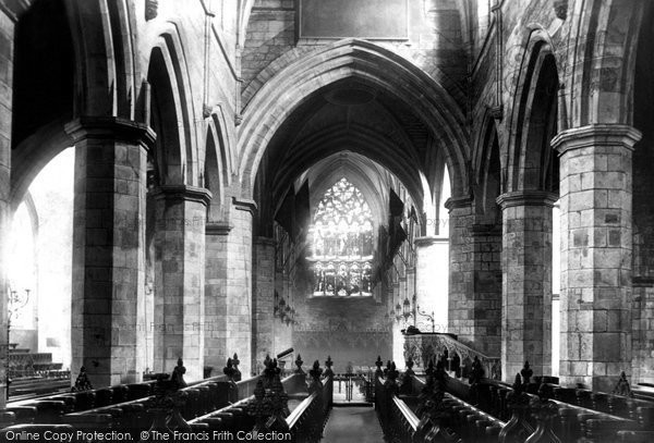 Photo of Edinburgh, St Giles's Cathedral, the Choir looking west 1897, ref. 39129