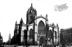 Edinburgh, St Giles's Cathedral c.1900