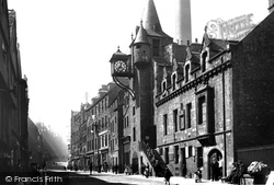 Edinburgh, The Canongate Tolbooth 1897