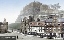 The Castle From The Grassmarket 1897, Edinburgh