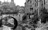 Edinburgh, the Dean Village c1955