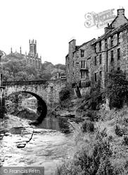 Edinburgh, The Dean Village c.1955