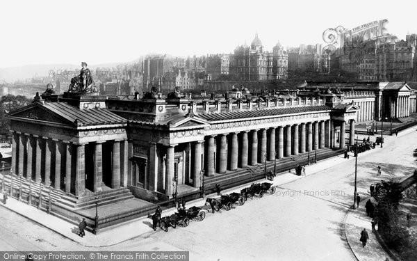Photo of Edinburgh, the Museum of Antiquities 1897, ref. 39115