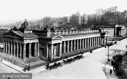 Edinburgh, The Museum Of Antiquities 1897