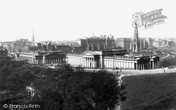 Edinburgh, The National Gallery 1897