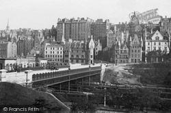 Edinburgh, The Old Town c.1880