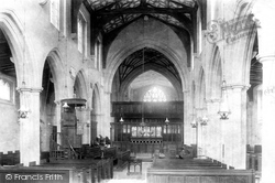 Edington, Church Interior 1900