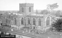 Edington, Priory Church c.1950