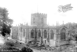Edington, St Mary, St Katharine And All Saints Church 1900