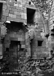 Edlingham, Edlingham Castle 1954